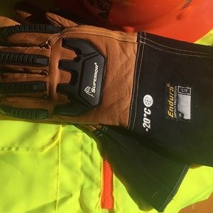 Other - New Leather work gloves LG